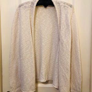 Eileen Fisher Long Sleeve Cotton Cardigan